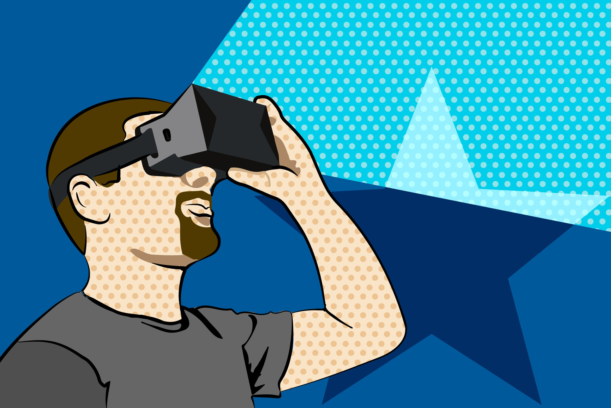 Virtual-Reality-Illustration