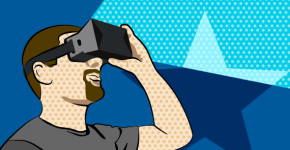 Virtual Reality als Symbol für Technologie-Trends